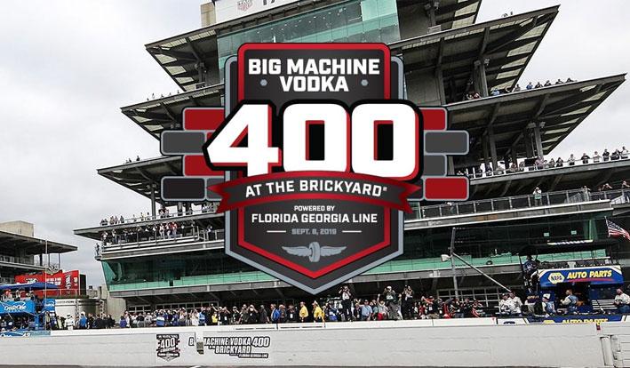 NASCAR 2019 Big Machine Vodka 400 at the Brickyard Odds