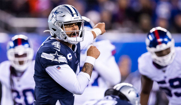Vikings vs Cowboys 2019 NFL Week 10 Odds & Game Prediction