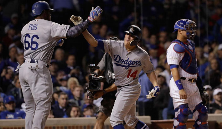 Are the Dodgers a safe bet  in Game 1 of the World Series?