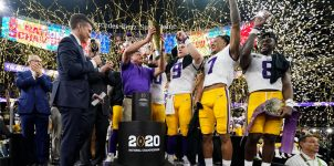 Early 2021 College Football Playoff National Championship Odds