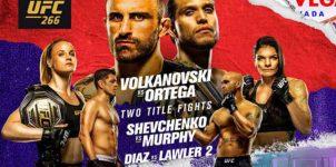 UFC 266: Volkanovski vs Ortega - MMA Betting Preview