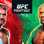 UFC Fight Night 164 Odds, Preview & Predictions